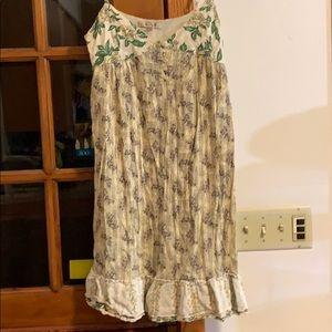 Size zip dress made in india , gauzy